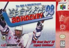 Wayne Gretzky's 3D Hockey '98 N64 Great Condition Fast Shipping
