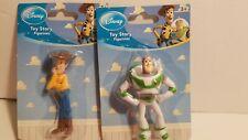 DISNEY PIXAR Toy Story - 3 inch- Buzz Lightyear & WOODY FIGURINES