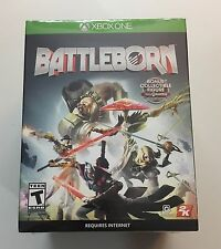 NEW Microsoft XBOX One Battleborn Collector's Edition with Collectible Figure