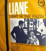 "OST LIGHT IN THE PIAZZA ( NASCIMBENE ) 7"" LIANE SING ITALIAN FANTASTICA 1962"