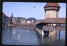 1970 kodachrome photo slide    Lucerne Switzerland