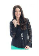 Lace Floral Plus Size Tops & Shirts for Women
