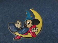 FIGURINE MICKEY PLASTIQUE MOULE EN RELIEF A ACCROCHER LUNE ETOILE