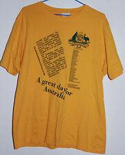 VINTAGE 1980'S WALLABIES GRAND SLAM T-SHIRT SIZE: LARGE