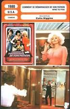 COMMENT SE DEBARRASSER DE SON PATRON - J.Fonda(Fiche Cinéma) 1980 - Nine to Five