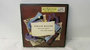 Strauss Waltzes Boston Pops Orchestra - Arthur Fiedler - Red Seal Records