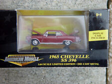 1965 Chevelle SS 396 1:64th Scale Die Cast Ertl American Muscle Mint in Box