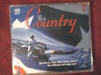 COMPILATION- THIS IS COUNTRY (64 TRACKS). BOX 4 CD.