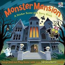 Sticker Story Activity Books Monster Mansion,Graham Oakley,New Book mon000009340