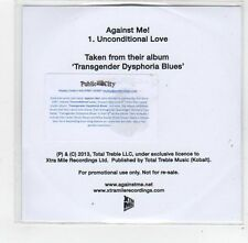 (FE382) Against Me!, Unconditional Love - 2013 DJ CD