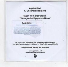 (FE382) Against Me!, Unconditional Love - 2013 DJ CD