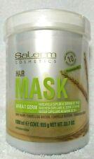 Salerm Cosmetics Wheat Germ Capillary Hair Mask 1000 ml/33.7oz