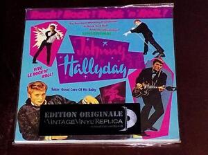 Johnny Hallyday Rock Rock Rock'n'roll EU MINI LP CD SEALED BRAND NEW