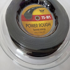 Black reel rough power tennis strings reel 200m big banger 660ft