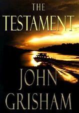 USED The Testament by John Grisham (1999, Hardcover)