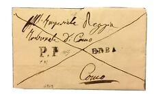Lombardo Veneto 1859 Erba PP Raro Accoppiamento Lettera Como