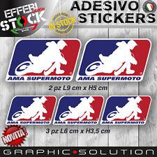 Adesivo Stickers Pegatinas Adesivi Kit AMA SUPERMOTO SUPERMOTARD CROSS HUSQVARNA
