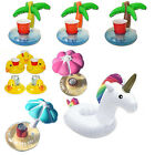 Inflatable Floating Unicorn Swimming Pool Bath Beach Drink Cup Beer Holder Toy