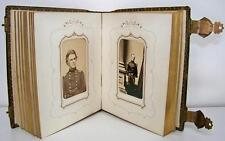 1860's CIVIL WAR CDV ALBUM - IMPORTANT UNION GENERALS & COMMANDERS - 18 IMAGES