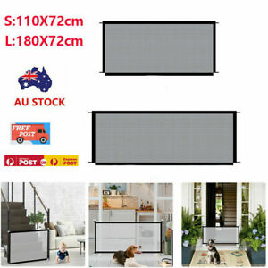 Pet Gate Mesh Safe Fence Barrier Guard Stair Enclosure Dog Baby Puppy Safety Net