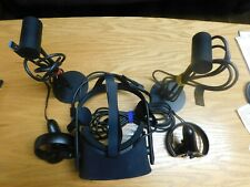 Oculus Rift CV1 Virtual Reality Headset with Controllers 2 Sensors - Black