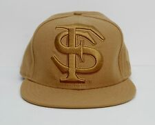 info for 6288d 9c0f0 Rare NEW ERA 59FIFTY Florida State Seminoles  NOLES  Solid Gold Fitted Hat  ...