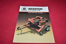 Hesston 4570 Center Line Baler Dealers Brochure YABE14