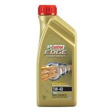 OLIO MOTORE CASTROL EDGE 5W40 TITANIUM FST TURBO DIESEL 1 litro dexos2 LONGLIFE