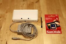 Nintendo 3DS Japanese Version Video Game Console w/Pen Charger SD card - White