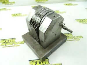 HEAVY DUTY 4 DIGIT NUMBER STAMP W/ RATCHET ADVANCE ACTION