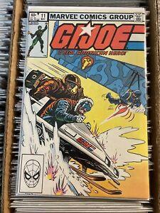 GI JOE A REAL AMERICAN HERO #11 1983 KEY BOOK 1st APP DESTRO SNOW JOB snake eyes