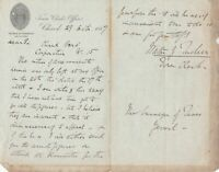 Town Clerks Office 1887 With Tucker & Forward Solicitors  Letter Ref 35763