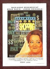 Cinema-Filmkarte; Rosalie goes shopping - Marianne Sägebrecht