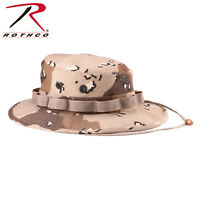 Desert Storm Chocolate Chip Camo Boonie Hat Vented Fitted Ripstop Rothco 5814