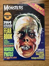 FAMOUS MONSTERS OF FILMLAND 1969 YEARBOOK (FEARBOOK) WARREN CLASSIC COVER FN/VF