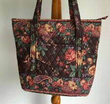 VERA BRADLEY VILLAGER HANDBAG WILDWOOD RETIRED RARE EXCELLENT CONDITION