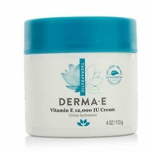 DERMA E Vitamin E 12000 IU Moisturize Cream 4oz Exp 01/2024