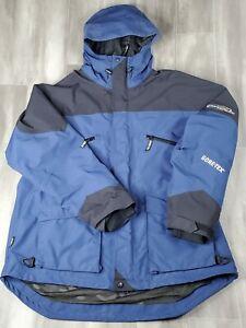 BASS PRO SHOPS Pro Qualifier Gore -Tex Jacket Rain/Snow 2XL Blue FAST SHIPPING