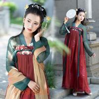 Hanfu Women's Dress Tops Chest Skirt Ribbon Cosplay Ancient Costume Dance Dress
