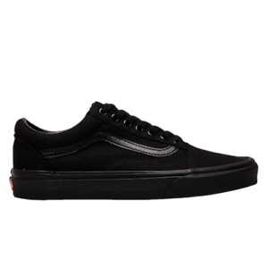Vans Old Skool Unisex Black Athletic Lifestyle Shoes Casual Lace Up Sneakers
