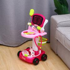 Kids Doctor Set Medical Play Set Trolley Nurse Medical Pretend Role Play Toy Set
