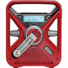 The American Red Cross Frx3 Emergency Weather Radio With Smartphone Charger