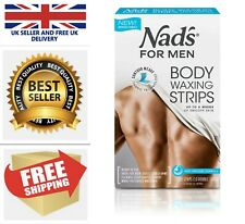 20 Pack Mens Body Wax Strips Stomach Chest Legs Back Men Hair Removal Waxing Kit