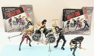 McFarlane Motley Crue Shout At The Devil Deluxe Figures Set Tommy Lee Vince Neil