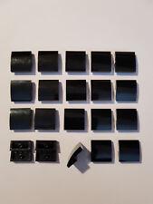 4 x LEGO® 15068 Gewölbte Steine 2x2x2//3 dunkelbraun wie auf dem Foto Neu.