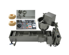 New CE approved Commercial Automatic donut fryer/maker making machine,3 Set Mold