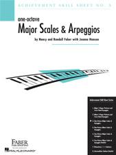 Achievement Skill Sheet No. 3: One-Octave Major Scales & Arpeggios