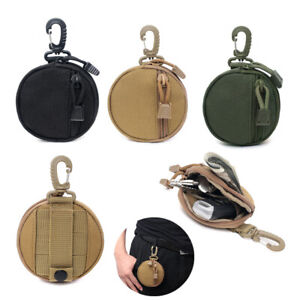 Tactical Key Bag Coin Purse Mini Molle Pouch Outdoor EDC Belt Waist Pack Storage