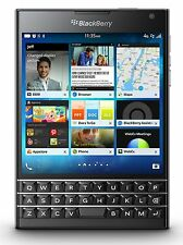 "New Imported BlackBerry Passport 32GB 3GB 4.5"" 13MP 2MP Black Colour"