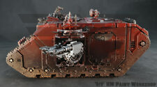 Warhammer 40K Chaos Word Bearers Land Raider (1) Pro Painted!